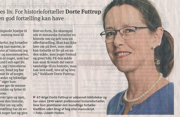 5af4c820e57 Artikel i Kristeligt Dagblad – Dorte Futtrup – Fortællekunst